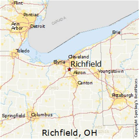 places    richfield ohio