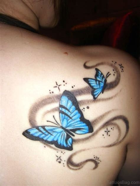 butterfly tattoo on shoulder 55 delightful butterfly tattoos on shoulder