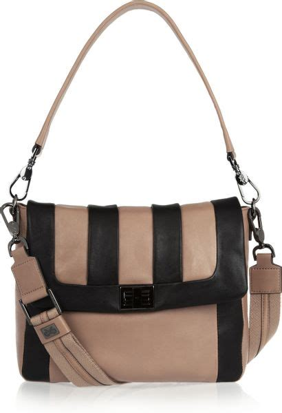 Anya Hindmarch Aretha Shoulder Bag by Anya Hindmarch Leather Shoulder Bag In Brown Lyst