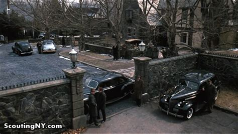 york city area filming locations   godfather