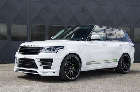 land rover lumma range rover vogue clr sr by lumma design drive safe and fast
