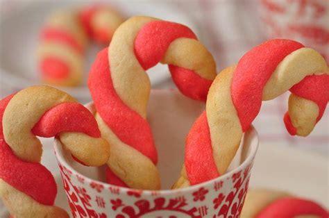 candy cane recipe candy cane cookies recipe dishmaps