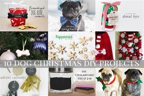 diy projects christmas 10 diy projects the pug diary