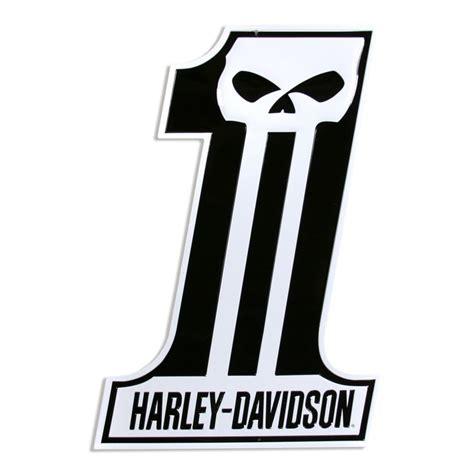 harley davidson number one skull harley davidson number one skull sign die cut signs