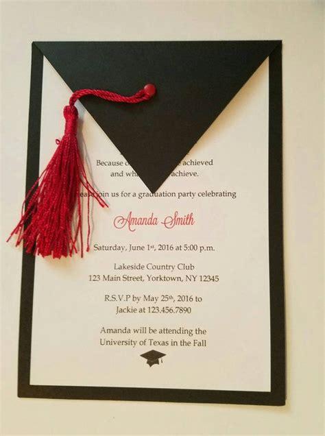 accesorios para graduacion invitaciones para graduaciones m 225 s de 25 ideas incre 237 bles sobre invitaciones de