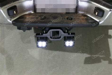 tow hitch mount cree led pod backup lights for