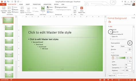 How To Use And Edit Powerpoint Master Slides How To Modify Powerpoint Template