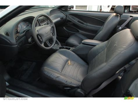 1999 mustang interior charcoal interior 1999 ford mustang gt convertible