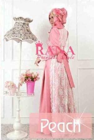 Dress Pesta Quine By Ayyanameena patriana by rana baju muslim gamis modern
