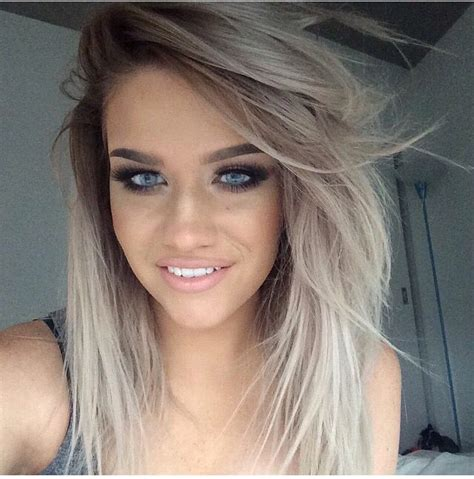 blonde mixed colours 17 best ideas about grey blonde hair on pinterest grey