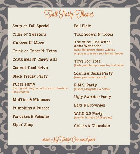names themes com 467 best thirty one party ideas fun images on pinterest