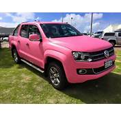 Pink Vw Amarok
