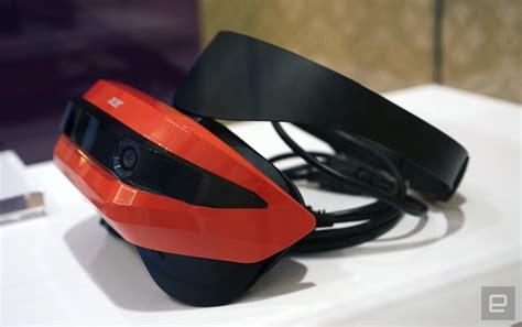 Vr Hp デル hp acerもvrヘッドセット公開 2眼カメラ搭載 windows holographic対応で年内発売 engadget 日本版