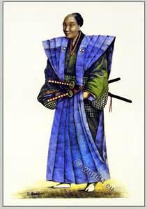 Japanese nobleman in court dress 1810 costume history