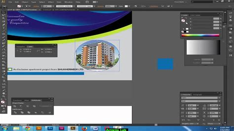 illustrator tutorial brochure design youtube brochure cover design in illustrator how to design a