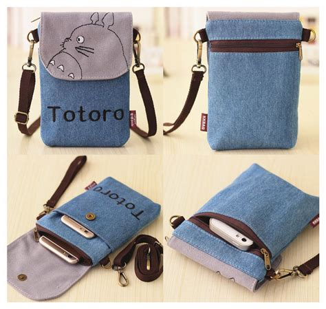 tas selempang model totoro blue jakartanotebook