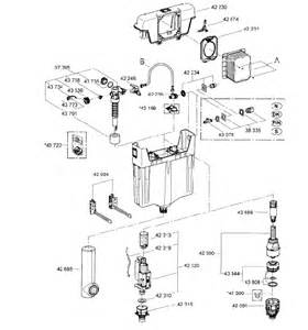Grohe Kitchen Faucet grohe wc concealed cistern 38661 spare parts