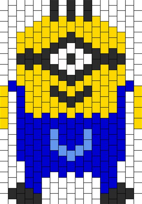 minion bead pattern despicable me 2 minion bead pattern peyote bead patterns