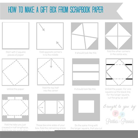 How To Make A Box Out Of Paper - how to make a box with paper 28 images diy gift box