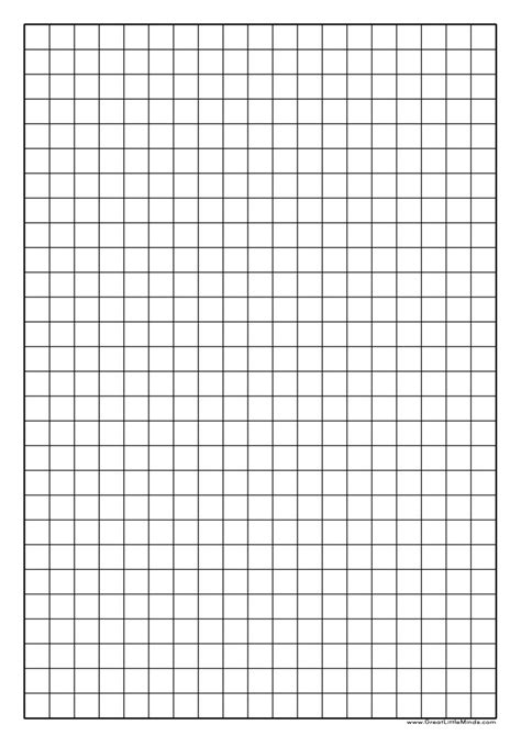 1 inch grid paper template graph paper printable click on the image for a pdf