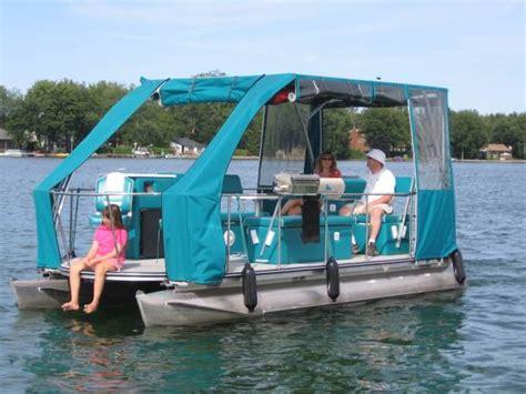 electric boat ontario monte gisborne s solar loon electric catamaran ontario canada