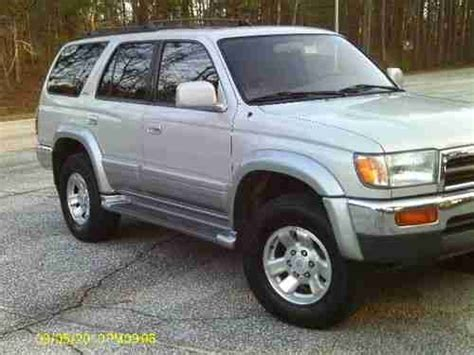 1998 Toyota Forerunner Mpg Purchase Used 1998 Toyota 4runner Limited 4x4 Low
