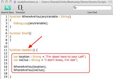 unity javascript tutorial pdf unity3d основы программирования подробнее о функциях