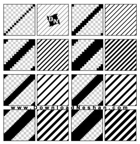photoshop pattern lines diagonal پترن خطوط مورب و راه راه برای فتوشاپ diagonal lines