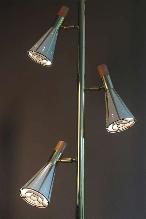 Floor To Ceiling Light Stiffel Light Pole L Brass Ceiling Fixture Mid Century Modernist 60s For Sale At 1stdibs