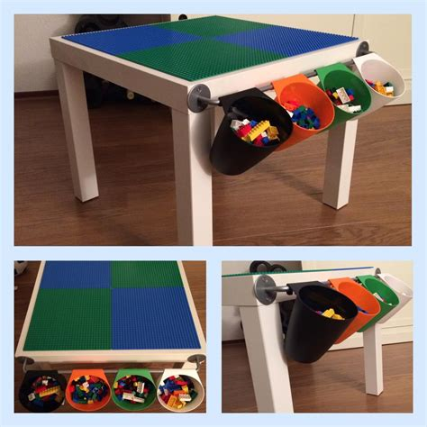lego table diy ikea compact lack lego play table ikea hackers