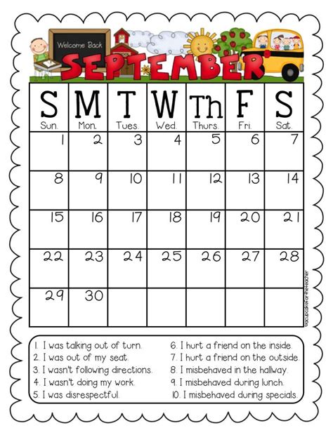 printable calendar kindergarten free editable printable calendars 2016 for teachers
