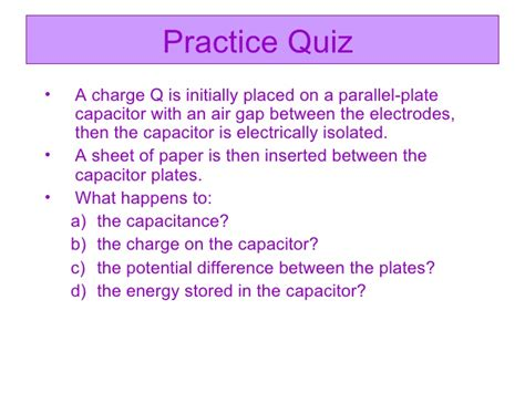 an air gap parallel plate capacitor of capacitance an air gap parallel plate capacitor of capacitance 28 images capacitors the diagram shows a