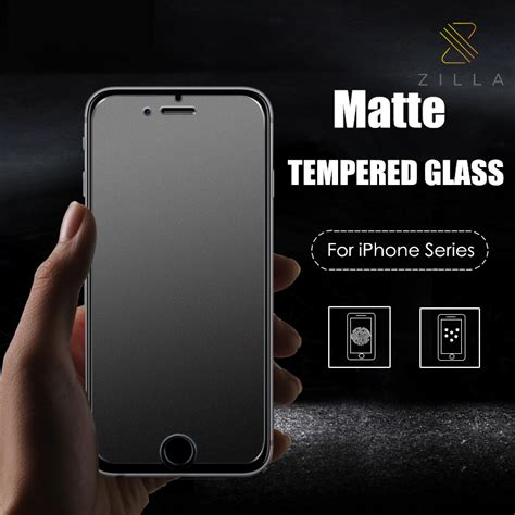 Tg Tempered Glass Iphone 6 2 5d 9h Screen Guard Protector Antigores Ka zilla 2 5d matte tempered glass curved edge 9h for iphone 6 6s jakartanotebook