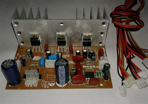 stereo  audio amplifier board kit  connector