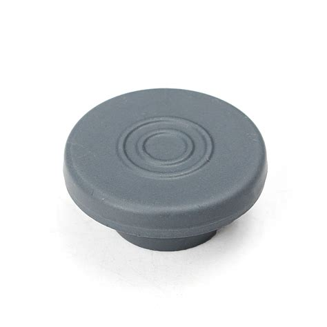 Rubber 20mm 100pcs 20mm rubber stoppers plugs gray for glass vials