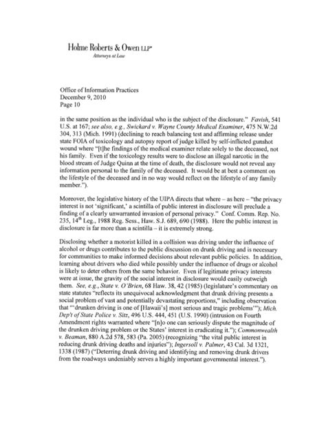 Character Reference Letter For Court Assault Tgi Attorney December 2010 Letter To Oip