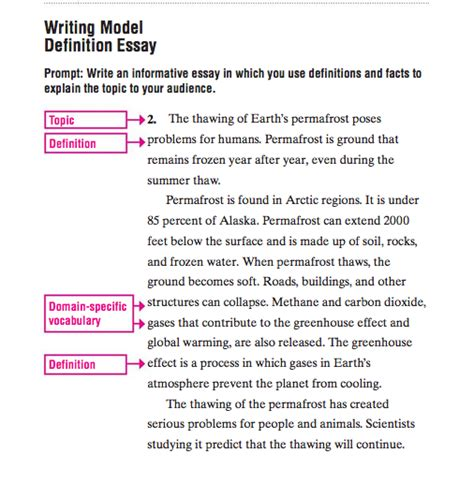 How To Write Definition Essay by Essay How To Write A Definition Essay Exles Enablly Definition Essay Forsberg Academic