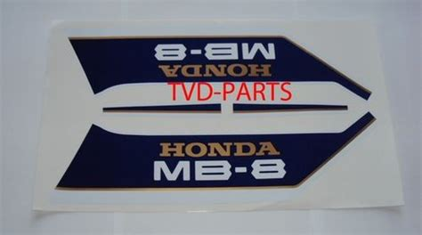 Honda Mb 8 Aufkleber by Stickers