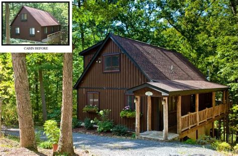 woodland cabin renovation traditional exterior dc