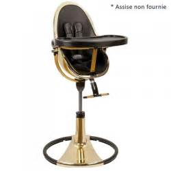 chaise haute fresco gold bambins d 233 co