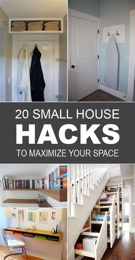 small space storage hacks 20 small house hacks to maximize your space ironing