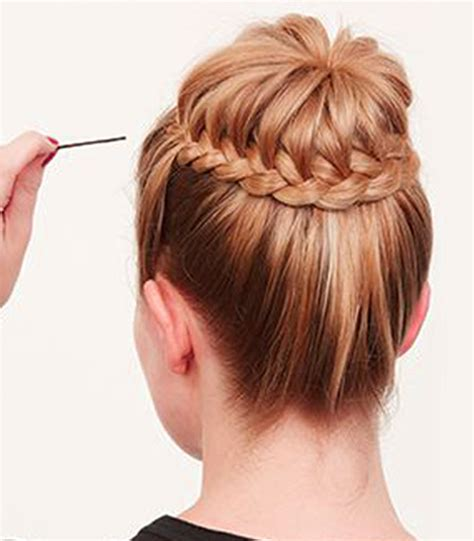 how to make a french roll with braids learn quick easy steps to make a suave bedazzled