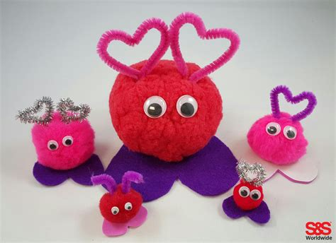 crafts with craft with pom poms s s
