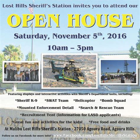 hill sheriff department lost sheriff s station hosts open house news