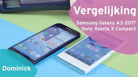 Samsung A3 Vs Sony C3 samsung galaxy a3 2017 vs sony xperia x compact review