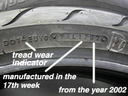 Car Tire Year Code Mototireguy Motorcycle Tire Faq Frequently Asked Questions