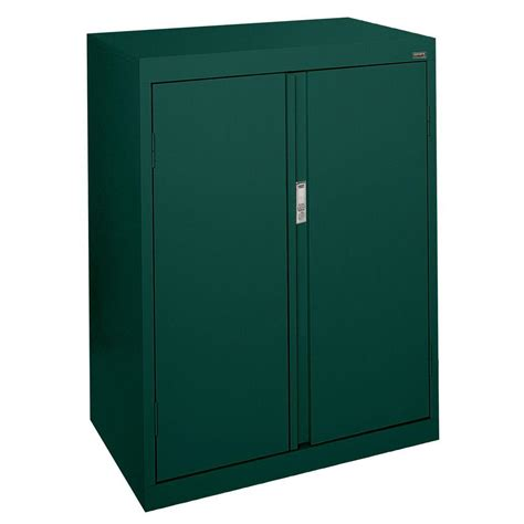 counter height storage cabinet sandusky system series 30 in w x 42 in h x 18 in d
