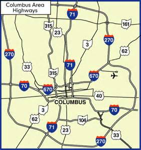 Ohio Interstate Map by Pin Columbus Ohio Interstate Map On Pinterest