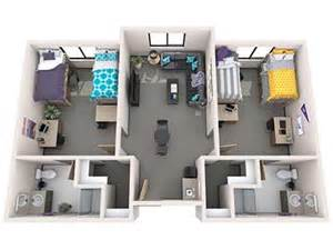 8 X 12 Bathroom Floor Plans office of residence life student housing grand canyon