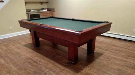 7 pool table for sale 7 brunswick hawthorn pool table for sale used